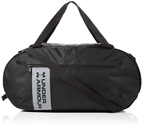 Under Armour Herren UA Roland Duffle MD vielseitige und robuste Sporttasche für Männer, Duffel Bag mit praktischen Fächern, Schwarz (Black), Einheitsgröße