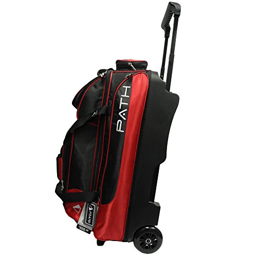 Pyramid Path Triple Deluxe Roller Bowling Bag, rot