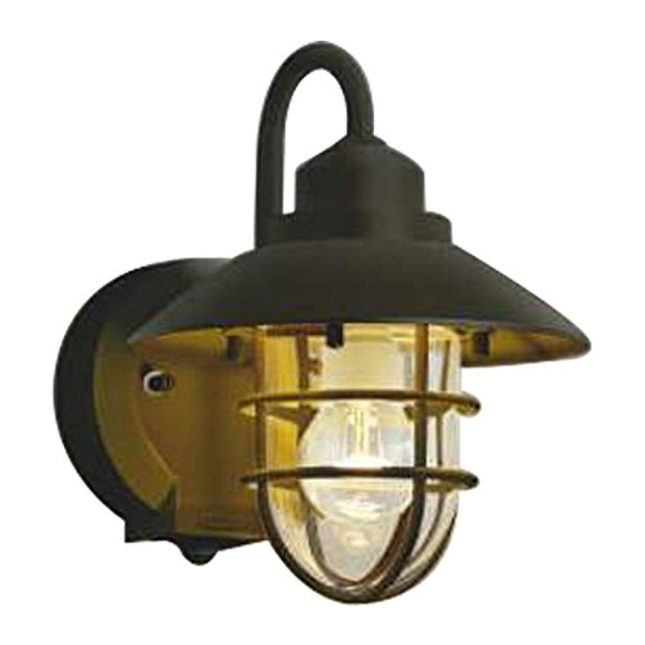 容器持続的オセアニアコイズミ照明 LED防雨型ブラケットタイマー付ON-OFFタイプ(白熱球60W相当)電球色 AU38410L