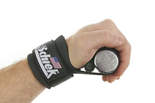 Schiek Sports Zughilfen mit Handgelenkschutz & Dübel Modell 1000DLSP - 6
