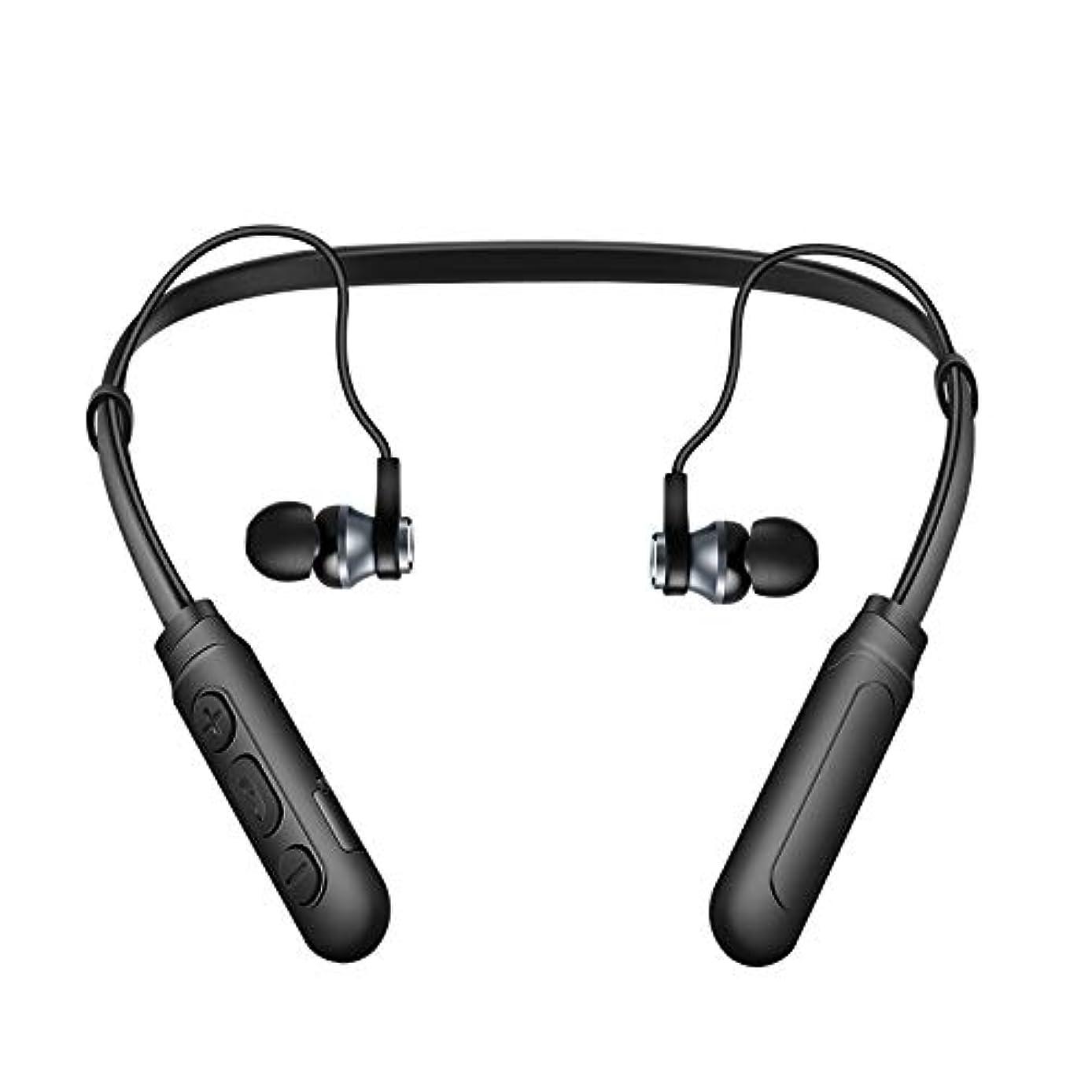 HOUSINGLOVES Wireless Bluetooth 5.0 Sweatproof Sport Gym Headset Stereo Headphone Earphone