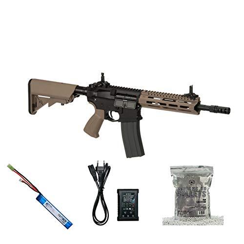 OpTacs Set !!! Softair - Gewehr - G & G CM16 Raider 2.0 - AB 14, Unter 0,5 Joule