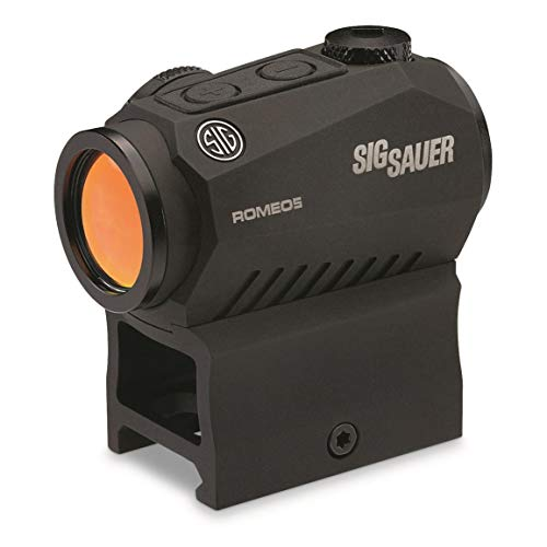Sig Sauer SOR52001 Romeo5 1x20mm Compact 2 Moa Red Dot Sight, Black