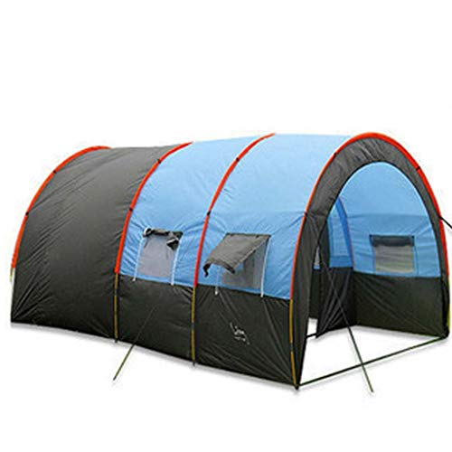 Gbyao Tent 8-10 People Waterproof Portable Travel Camping Tent Walking Double Oxford high Strength Outdoor Tent