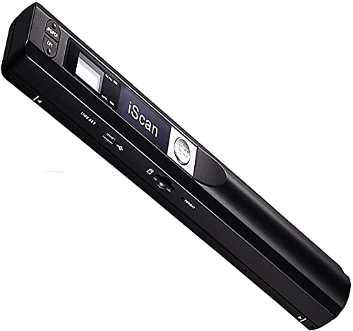 VIBOTON Scanner Mini Handheld Document Scanner iScan Portable A4 Book Scanner JPG and PDF Format 300 600 900 DPI