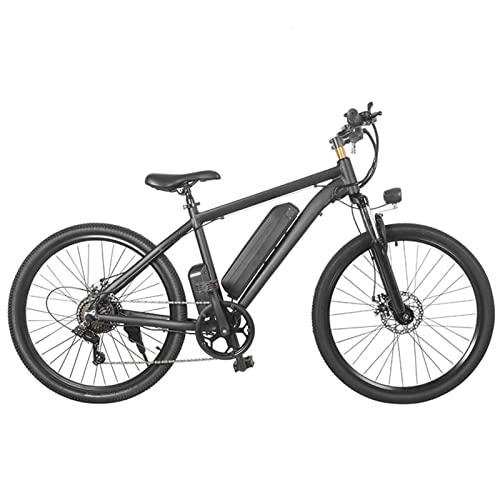 HMEI Bicicleta eléctrica de montaña de 26 Pulgadas para Mujer 350W 36V Motor 10ah Batería Bicicleta eléctrica de 25 velocidades Bicicleta eléctrica de Playa (Color : MK-010, Number of speeds : 24)
