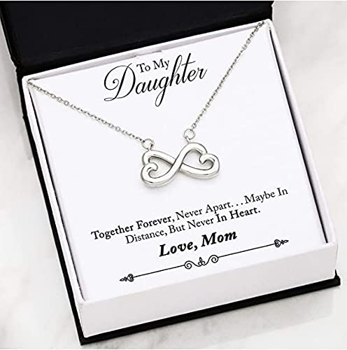 FG Family Gift Mall Infinity Love Necklace for Women - Inspirational...