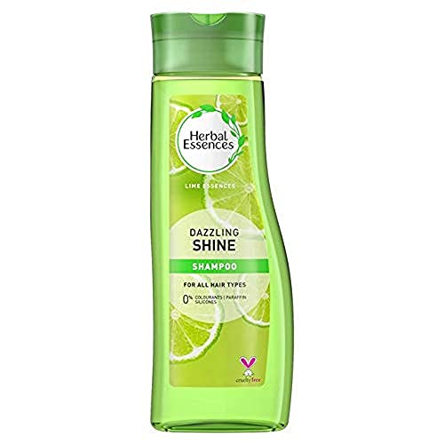Herbal Essences Dazzling Shine Shampoo for all hair type, 400 ml- Pack of 6