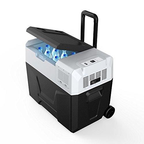 ACOPOWER RA Portable Solar Fridge Freezer for Car and Outdoor, -4°F True Freezing (42 Quarts)