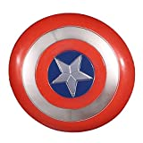 BCCDP Scudo di Captain America Civil Wars ABS Plastica 1: 1 da 30 cm Avengers Marvel Prop Giocattolo Replica Serie Legends per adultoScudo di Captain America Civil Wars per Adulto