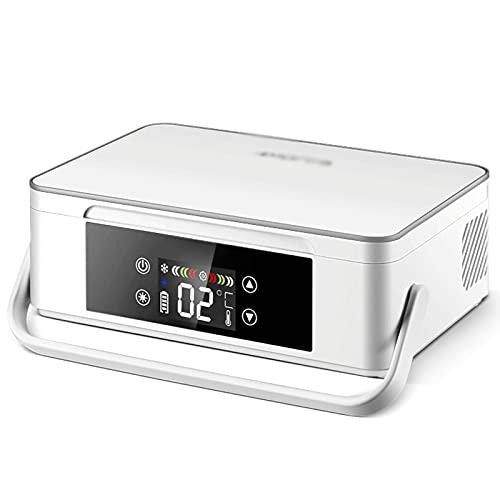 Nevera De Insulina Caja De Almacenaje De La Insulina, Refrigerador De Insulina De 2-8 ℃, Usb Recargable Caja Del Refrigerador-White