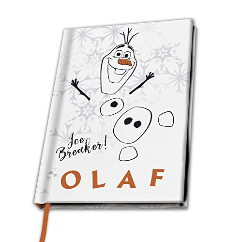 ABYstyle - Disney - Die Eiskönigin II - Notizbuch A5 - Olaf