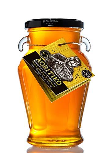 Griechischer Honig aus kretischem Thymian, Pinien und Wildkräutern – aus Kreta – Natürlicher Reiner unvermischter Honig – Aoritiko - 750g