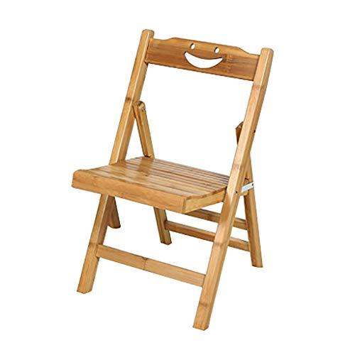 Lw outdoor opklapbare campingstoel, van hout, draagbaar, voor eetkamer, bureaustoel, computerstoel