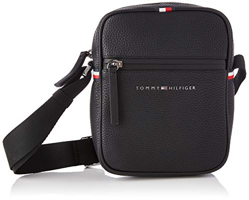 Tommy Hilfiger Essential, Bolso para Hombre, Black, One Size