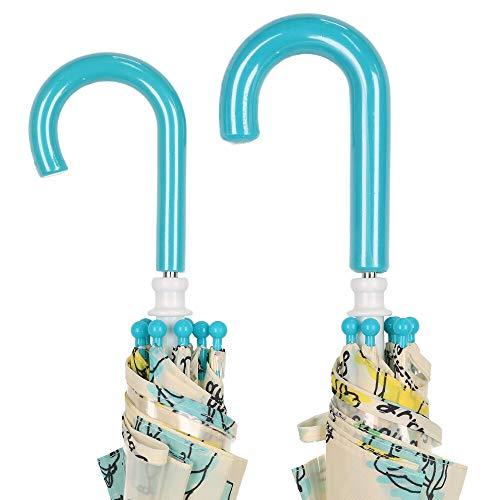 【子供服】moujonjon(ムージョンジョン)動物・お花総柄かさ・傘SS~MB81867