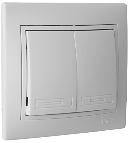 SOLERA ERP12U Doble Conmutador, 250 V, Blanco