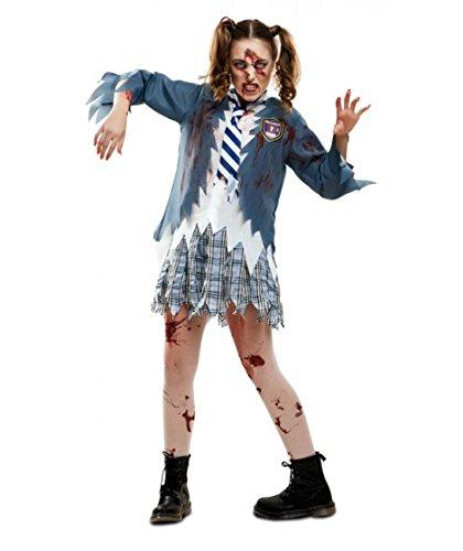 My Other Me Me-201952 Disfraz de estudiante zombie chica para mujer, M-L (Viving Costumes 201952)