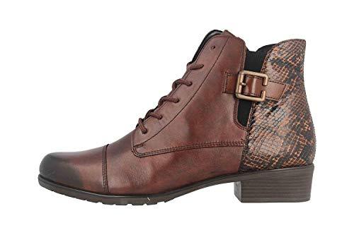 Remonte Damen D6875 Mode-Stiefel, Mokka/Schoko/Mokka / 25, 45 EU