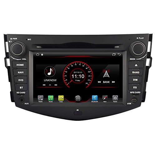 W-bgzsj para Toyota RAV4 2006 2007 2009 2010 2011 2011 2011 en Dash Car DVD Player Radio GPS Sat Nav Navegación Estéreo Support USB SD 1080P Bluetooth