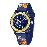 Relojes para Niños Niño, Reloj con Astronauta Espacial para Niños de 3 a 10 Años, Resistente Al Agua, Al Aire Libre y Regalos para Niños
