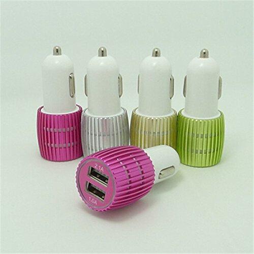 Tiankaid Dual USB Cigarrillo del Coche BLU-Ray Adaptador de alimentación más Ligera...
