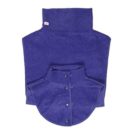 manduca by MaM Fleece Cover & Fleece Loopschal für Babytragen (Double Dickey Dark Iris)