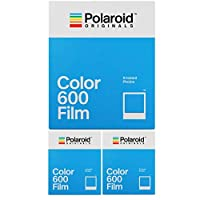 Polaroid Originals インスタントクラシックカラーフィルム 600カメラ用 (3パック)