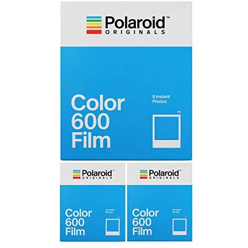 Polaroid Originals Instant Classic - Pellicola a colori per 600 fotocamere (confezione da 3)