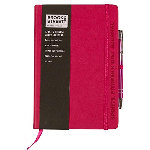 Agenda A5 per sport, fitness e alimentazione A5 Fuchsia Pink