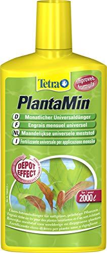 Tetra PlantaMin Universaldünger (flüssiger Eisen-Intensivdünger für prächtige und gesunde Wasserpflanzen, wirkt bis zu 4 Wochen)