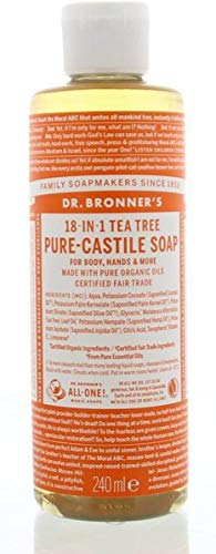 Dr Bronners Liquid Soap Tea Tree, 240 Ml