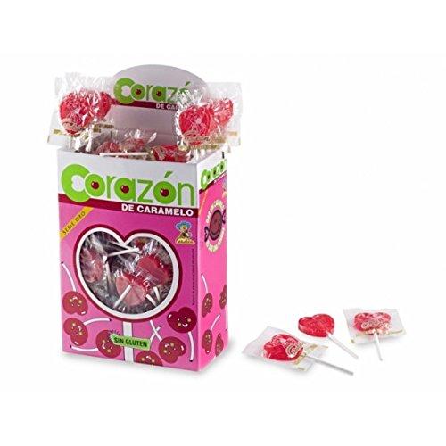 Corazón de caramelo - Piruleta - 110 unidades