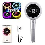 JTMall Twice Light Stick Version 2 Candy Bong Girls Torch, Kpop Concert Light Stick/Cheering Light【Connect Bluetooth】