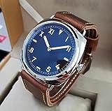 Relojes 4 Reloj Mecánico De Acero Inoxidable con Cuerda Man
