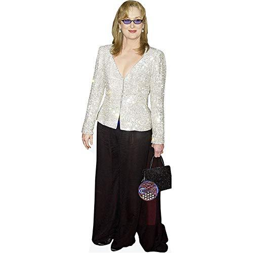 Celebrity Cutouts Meryl Streep (Sparkly Jacket) Pappaufsteller Mini
