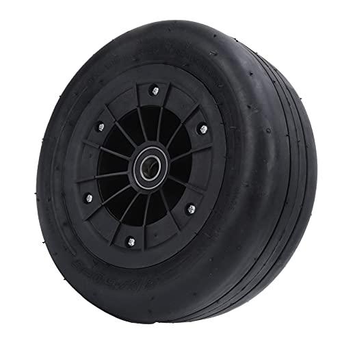 FOLOSAFENAR Neumático Delantero de Karting, neumático de Repuesto para Kart, diseño de Muesca de Goma de Alta Resistencia a los Impactos para entusiastas del Karting