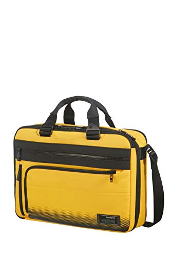 Samsonite Cityvibe 2.0 - Three-Way Expandable Aktentasche, 41 cm, 19.0 Liter, Golden Yellow