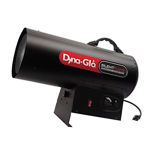 Dyna-Glo 125,000-BTU Quiet Portable Propane Forced Air Heater, Blak