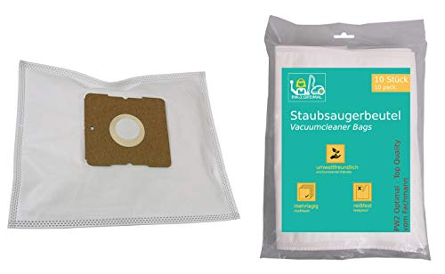 PW2 Optimal 10 Stück Staubsaugerbeutel geeignet für Staubsauger Kalorik KA VC 6 || KAVC6 II mit Zusatzfilter