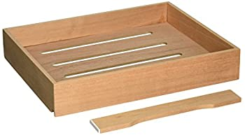 Spanish Cedar Cigar Tray Compatible with Display 5 or The Display 7 Cigar Humidor Models by Quality Importers