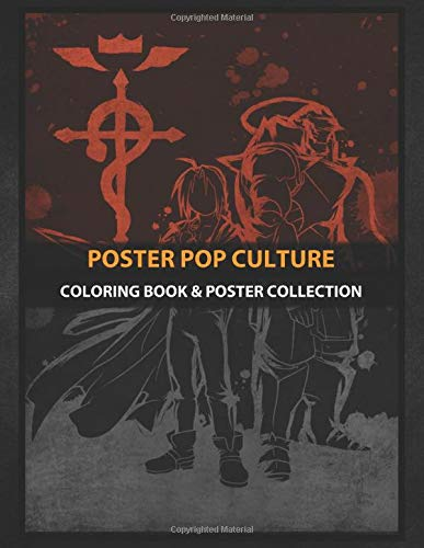 Coloring Book & Poster Collection: Poster Pop Culture The Alchemist Art Anime & Manga