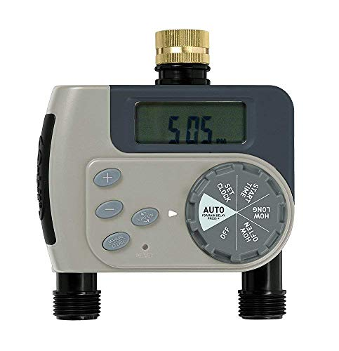 Orbit 94148 'Buddy II' Two-Port Digital Tap Timer