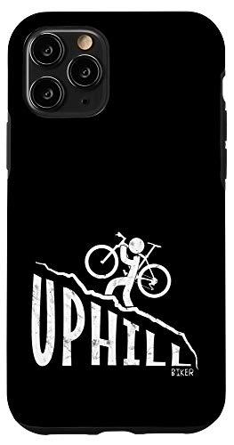 iPhone 11 Pro Uphill Mountainbiking Fun Freeriding Downhill MTB Case