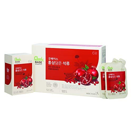 KGC Cheong Kwan Jang [Good Base Red Ginseng] Health Drink (30 Drink Pouches) - Pomegranates
