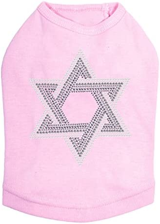 Star of David Gray Large discharge sale and Clear Rhinestone S Hanukkah - Bling Louisville-Jefferson County Mall Dog