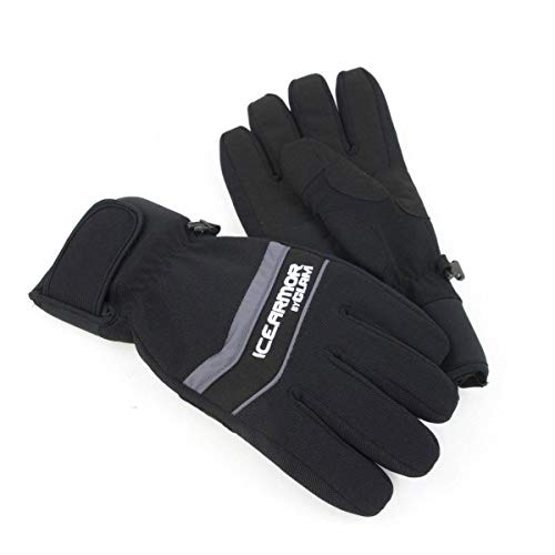 Clam Outdoors IceArmor Edge Outdoor Winter Waterproof Ice Fishing Gloves, XLarge