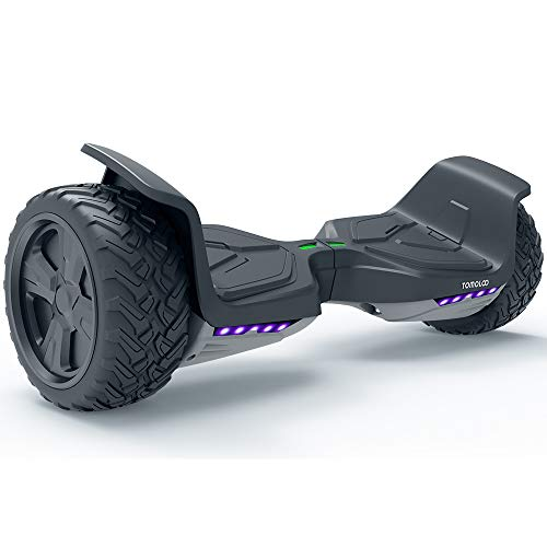 TOMOLOO Hoverboard UL2272 Certified 8.5 Inch Off Road Hoverboard App Controlled...