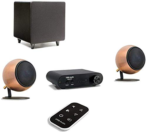 Read About Orb Audio: Booster1 Micro Soundbar and Stereo Speaker System with EZ Voice - Remote Inclu...