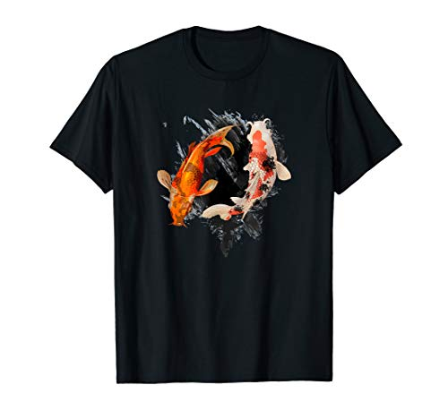 Japanese Koi Fish I Koi Carp Pond Japan Tattoo T-Shirt